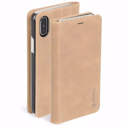 Picture of Krusell Krusell Sunne 4 Card Folio Case for Apple iPhone XS/X in Nude