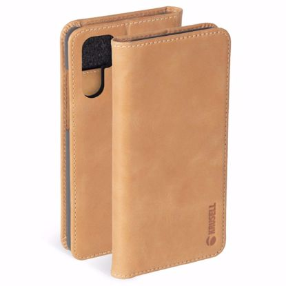 Picture of Krusell Krusell Sunne 2 Card Folio Walllet Case for Huawei P30 Pro in Nude