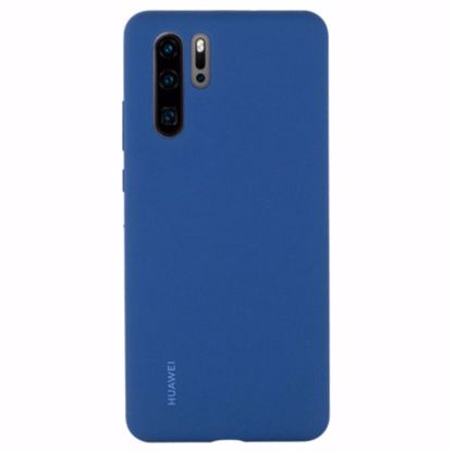 Picture of Huawei Huawei Silicone Protective Cover Case for Huawei P30 Pro in Blue